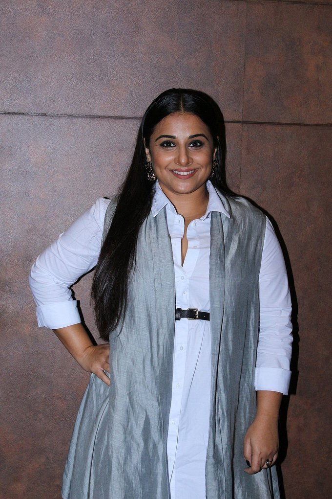 Vidya Balan at Special Screening Of Film Shubh Mangal Savdhan Photos Gallery
