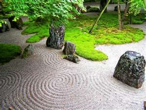 1 Position Rocks Arrange Them In Groups Of Three These Represent Heaven Earth And Mankind Note If You Have A Pond The Should Be