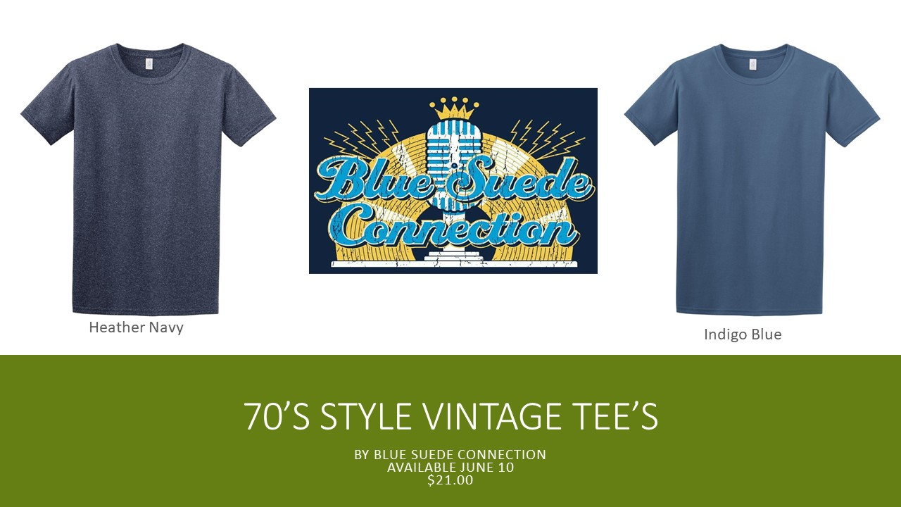 Blue Suede Connection Tees
