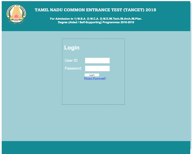 TANCET 2018 Hall Ticket Published (Download Now)