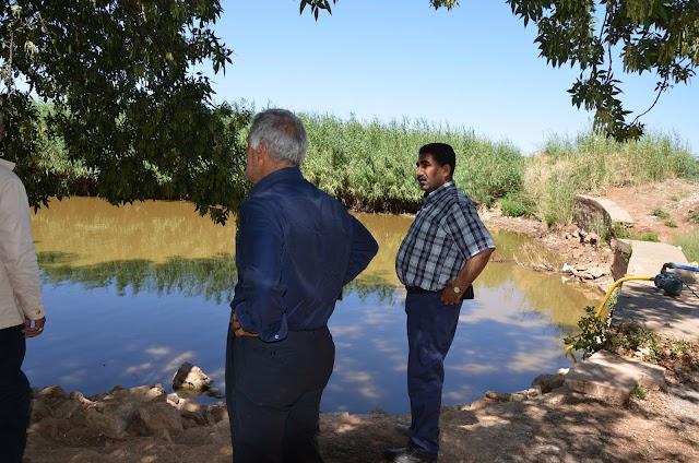 Bozova'da göller kuruyor, yetkililer bakıyor