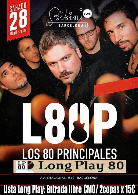 Concierto Los 80 Principales + Party Magic 80