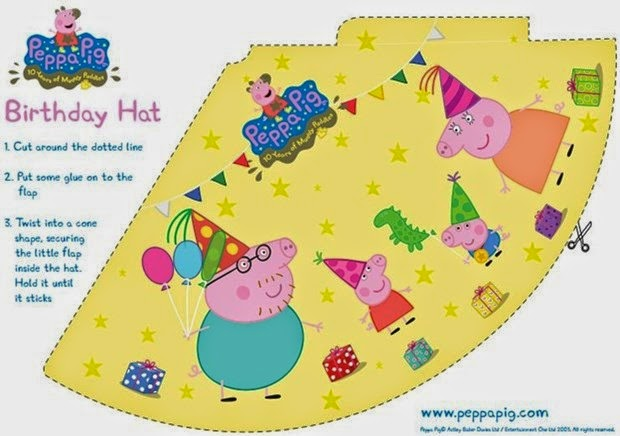 Peppa Pig Free Printable Party Mini Kit Oh My Fiesta! in english