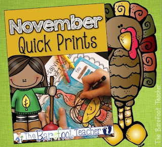 Thanksgiving is almost here! This quick print pack of activities for preschool, kindergarten, or first grade kids is a perfect addition to the other ideas, crafts, and resources you have planned for your students. Practice math, phonics, & literacy. #thanksgiving #printables #activities #kindergarten #math #literacy #phonics #preschool #turkey #pilgrims