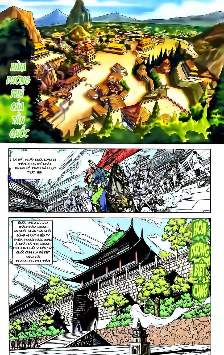 Tần Vương Doanh Chính chapter 3 trang 19