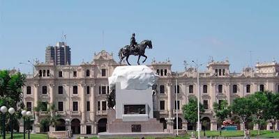 Plaza San Martin, Centro de Lima, Viajes del Peru, Salir por el centro de Lima