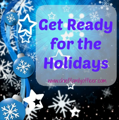 Get Ready for the Holidays 2015 with Chief Family Officer