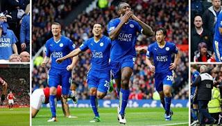 Leicester Batalkan Kemenangan Red Devils di Menit Injury