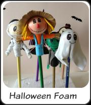 Fofulápices para Halloween