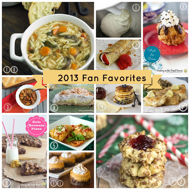 Fan Favorites 2013 | Cooking on the Front Burner #cookingonthefrontburner #2013favorites