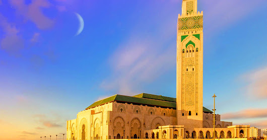 TRAVEL TUESDAY #143 - GRAND MOSQUE, MOROCCO