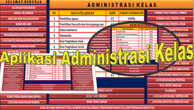 Adminitrasi Kelas 1 Sampai 6 Lengkap dan Terbaru 2016