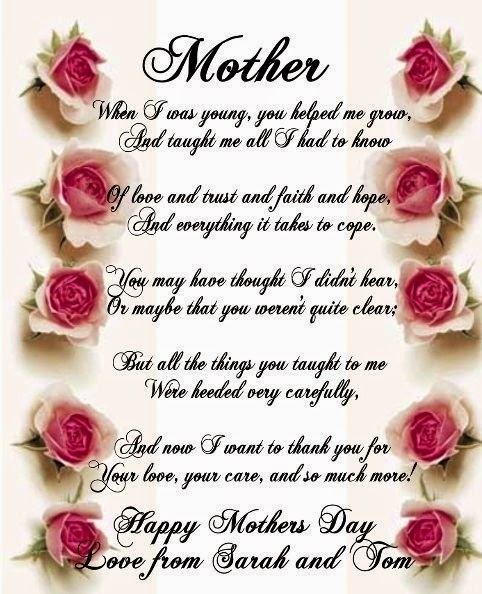 facebook mothers day poem image