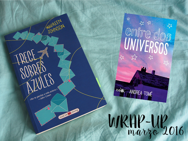 Wrap-Up Marzo 2016 - TBR Abril 2016
