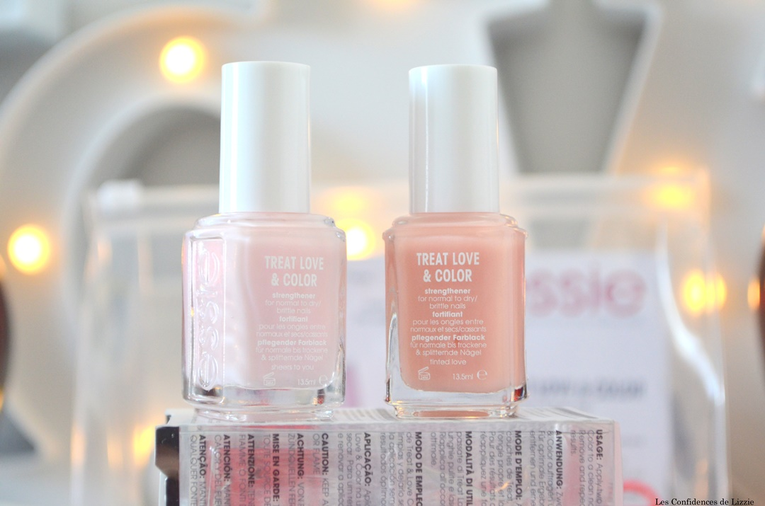 gamme soin et couleur essie - essie - soin essie - soin pour les ongles - ongles cassants - ongles repares - ongles forts