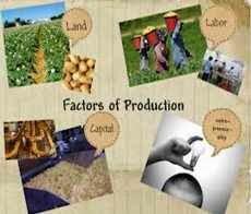 Faktor-faktor produksi yang diperlukan dalam proses produksi