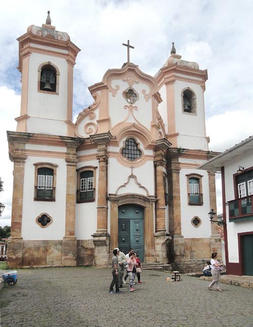 Top 5 igrejas para visitar em Ouro Preto - Matriz Nossa Senhora do Pilar