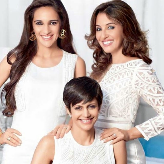 these three beauties.. mandira, tara and perizaad.. natural beauties.. insta bollywood , bollywood , india , india ,n tara sharma , mandira bedi , perizaad , desi , punjabi ,, Hot Pics of Tara Sharma Saluja: Style File