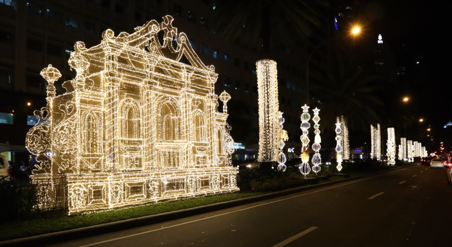Makati Christmas Street Lighting 2018