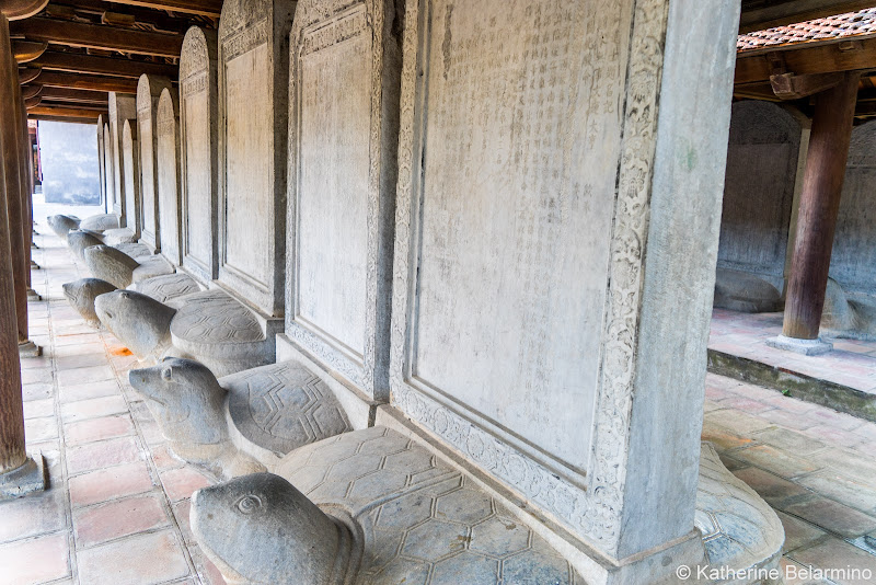Temple of Literature Tablets Things to Do in Hanoi Vietnam