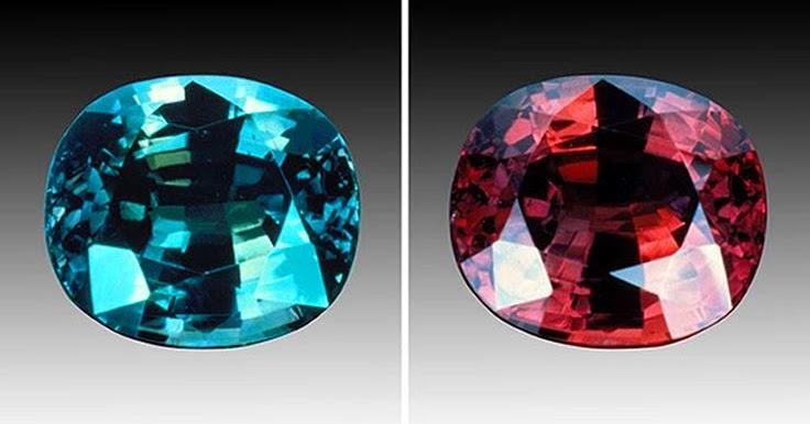 Alexandrite Effect Gemstones That Change Color In