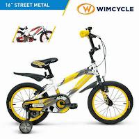 wimcycle street metal bmx 16