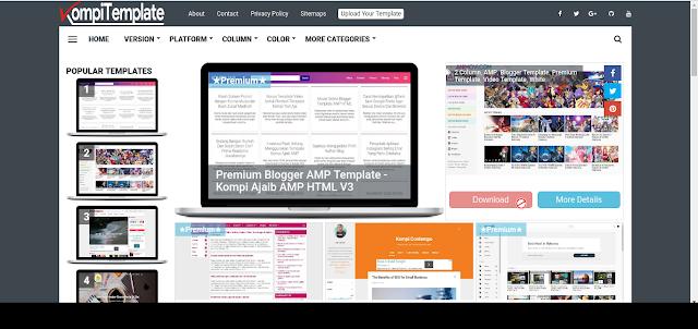 7+ Situs Blogger Template Terbaik Karya Anak Bangsa 2019 7