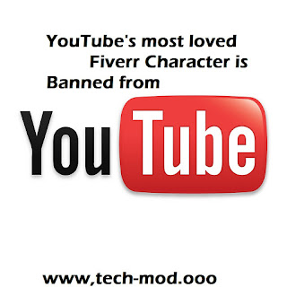 YouTube's most loved Fiverr on-screen character is restricted from the administration