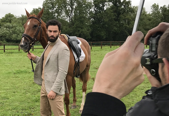 Aidan Turner, Article Magazine, racehorse