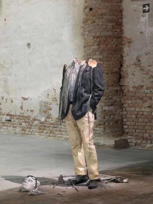 Simply Creative  Melting Wax Sculptures By Urs Fischer