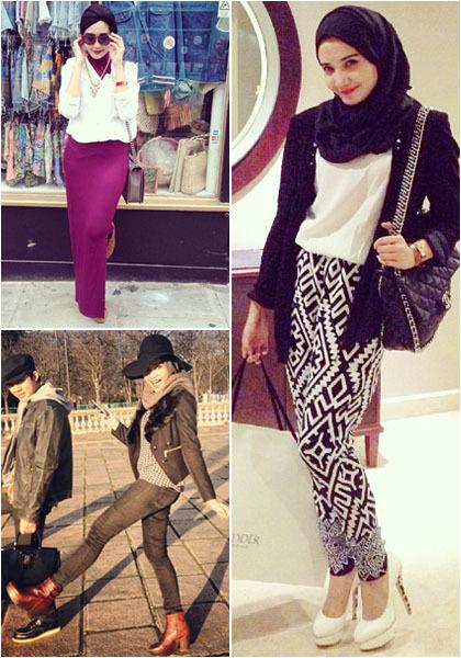 Gaya Fashion Hijab Zaskia Sungkar Berita Artis Terbaru