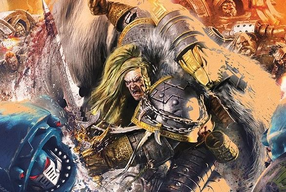Leman Russ.. This Can't be Right? A Daemon Primarch?