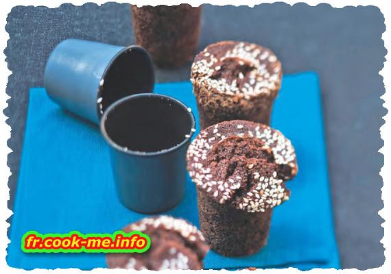 Bouchon chocolat au sésame