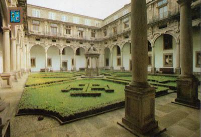 postal, claustro, hostal, Santiago