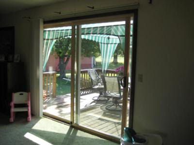 Patio Door: 8 Sliding Patio Door