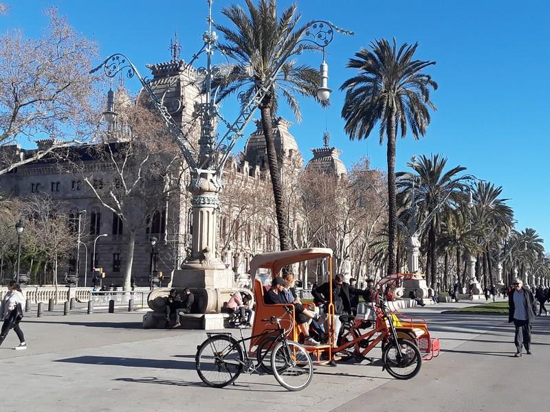 Place célèbre Barcelone