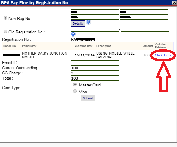 How to Check and Pay Bangalore Traffic Police Challan