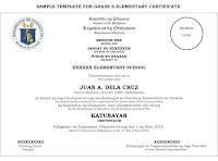 editable school certificates