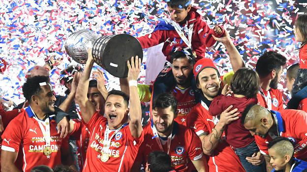 Chile campeón de América
