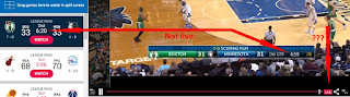 NBA League Pass-Not Live 1