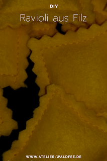 Ravioli aus Filz