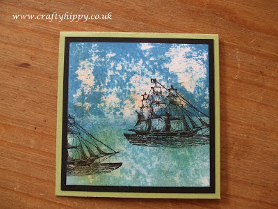 The Open Sea, Stampin' Up! Acrylic blocks