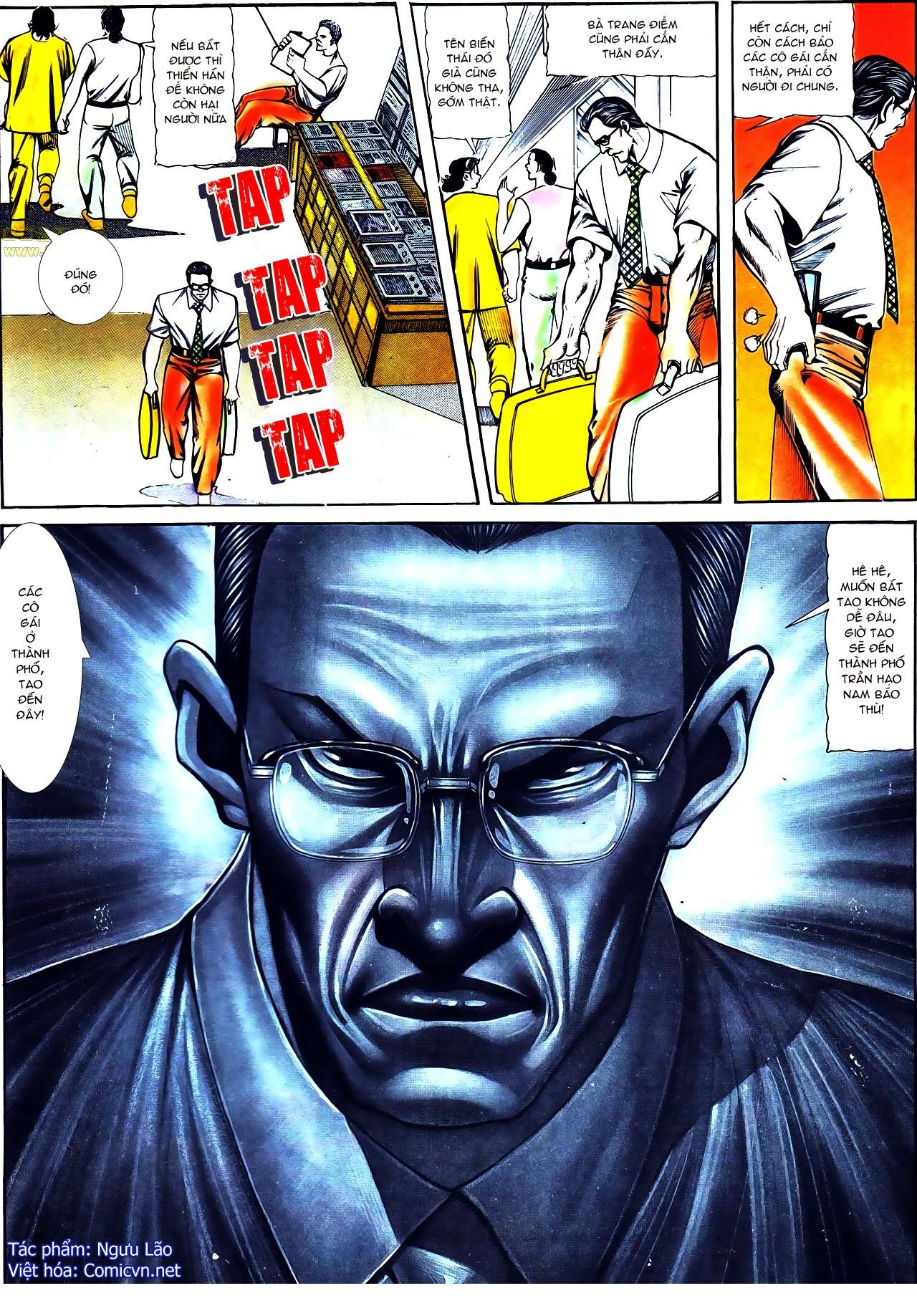 Người Trong Giang Hồ chapter 120: sắc ma đồn môn trang 23