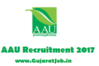 AAU Recruitment 2017