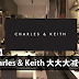 Charles & Keith 大大大减价!折扣高达30%!