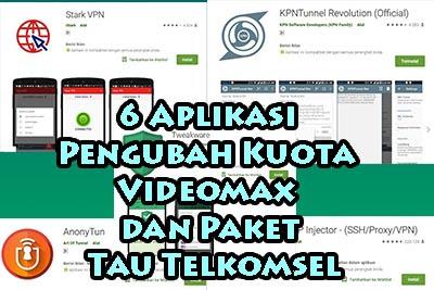 6 Aplikasi Pengubah Kuota Videomax dan Paket Tau Telkomsel