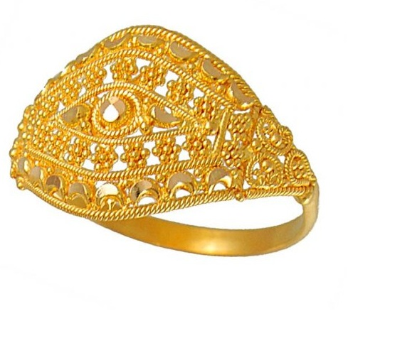 Latest World Fashions Mens Gold Rings