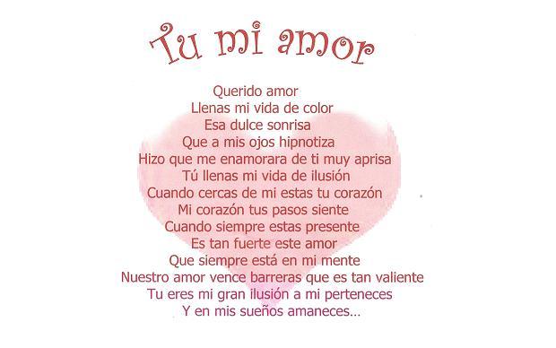 Amor y Tinta: 10 Imagenes con Poemas de amor en Español