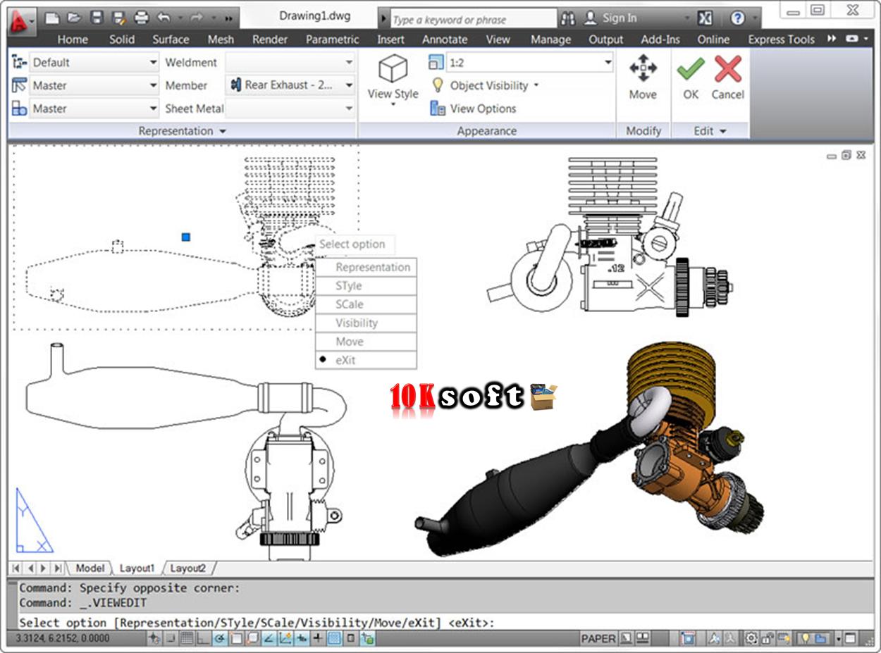 AutoCAD 2012 Free Download