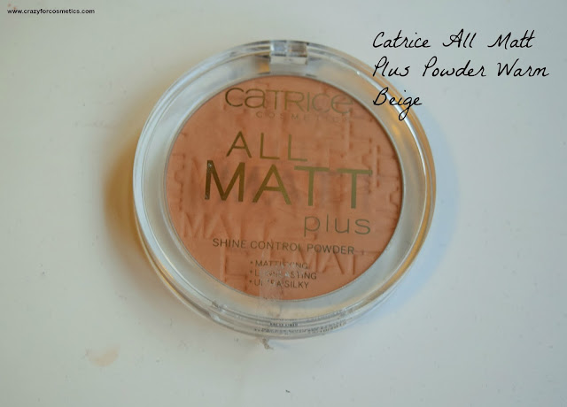 Catrice Cosmetics All Matt Powder Review